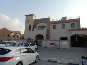 Verschleiertes Christentum Dubai